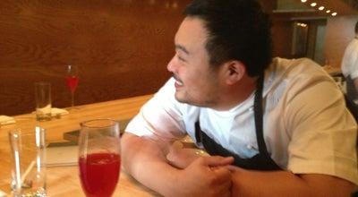 Photo of Asian Restaurant Momofuku Ko at 163 1st Ave, New York, NY 10003, United States