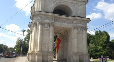 Photo of Monument / Landmark Arcul de Triumf at Piața Marii Adunări Naționale, Chişinău, Moldova