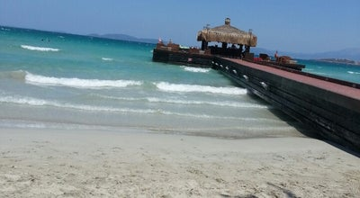 Photo of Beach Sheraton Hotel Beach at Ilıca, Çeşme, İzmir, Turkey