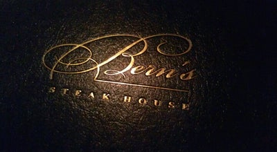 Photo of Steakhouse Bern's Steak House at 1208 S Howard Ave, Tampa, FL 33606, United States