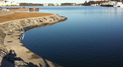 Photo of Harbor / Marina Hornsbergs Strand at Kungsholmen, Stockholm, Sweden