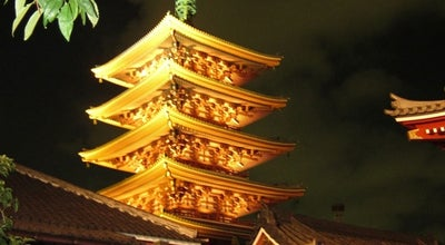 Photo of Buddhist Temple 浅草寺 (Sensō-ji Temple) at 浅草2-3-1, 台東区 111-0032, Japan