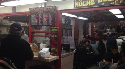 Photo of Mexican Restaurant La Noche Buena Restaurant at 12 Olvera St, Los Angeles, CA 90012, United States
