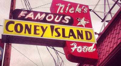 Photo of Hot Dog Joint Nick's Famous Coney Island at 3746 Se Hawthorne Blvd, Portland, OR 97214, United States