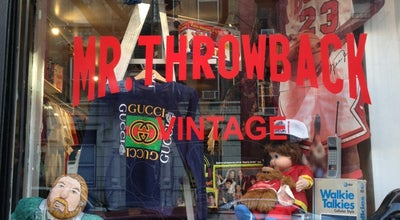 Photo of Thrift / Vintage Store Mr. Throwback at 428 E 9th St, New York, NY 10009, United States
