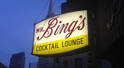 Photo of Dive Bar Mr. Bing's at 201 Columbus Ave, San Francisco, CA 94133, United States
