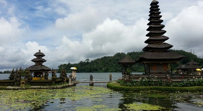 Photo of Hindu Temple Pura Ulun Danu Beratan at Desa Candikuning, Tabanan, Indonesia