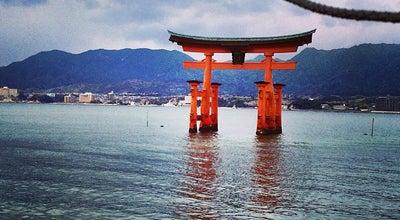 Photo of Monument / Landmark 厳島神社 大鳥居 at 宮島町, 廿日市市 739-0588, Japan