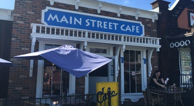 Photo of American Restaurant Main st Cafe at Fallbrook, CA, United States