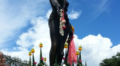 Photo of Monument / Landmark อนุสาวรีย์พระนางจามเทวี (Queen Chamdhevi Monument) at Nai Mueang, Mueang Lamphun, Changwat Lamphun, Thailand