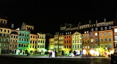 Photo of Plaza Rynek Starego Miasta | The Old Town Market at Warszawa, Poland
