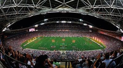 Photo of Football Stadium ANZ Stadium at Edwin Flack Ave., Sydney Olympic Park, NS 2127, Australia