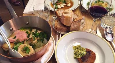 Photo of French Restaurant La Bourse et la Vie at 12 Rue Vivienne, Paris, France