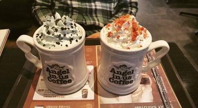Photo of Coffee Shop 엔제리너스커피 (Angel-in-us Coffee) at 대학로 281-1, Keizan, South Korea