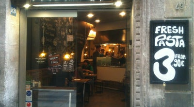 Photo of Italian Restaurant Pasta Bar at 47 Calle Escudellers, Barcelona 08002, Spain
