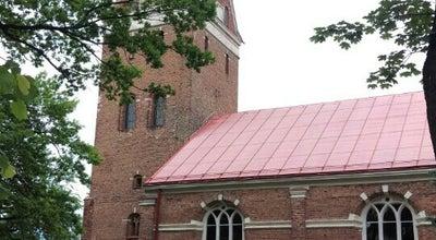 Photo of Church Svētas Annas luterāņu baznīca at Lielā Iela 22a, Jelgava LV-3001, Latvia