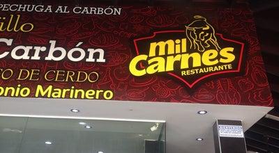 Photo of Steakhouse Mil Carnes at Av. Del Río, Cra. 19, Santa Marta 470004, Colombia