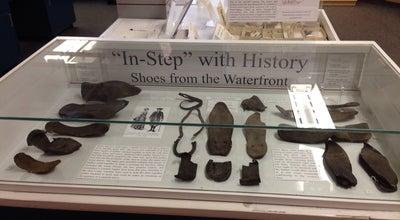 Photo of History Museum Alexandria Archaeology Museum at 105 N Union St #327, Alexandria, VA 22314, United States