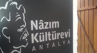 Photo of Cafe Nazım Kültürevi at Kaleiçi, Antalya, Turkey