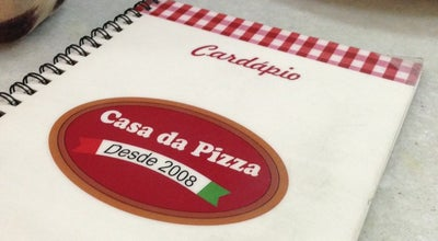 Photo of Pizza Place Casa da Pizza at Av. Edésio Viera De Melo, 254 - São José -, Aracaju 49015-160, Brazil