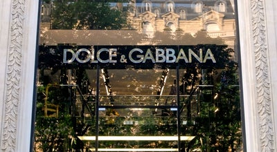 Photo of Clothing Store Dolce & Gabbana at 54, Avenue Montaigne, Paris 75008, France