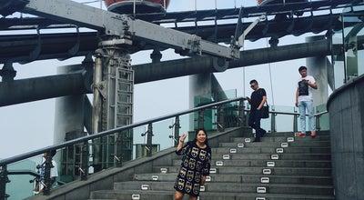 Photo of Theme Park Ride / Attraction 摩天轮 Bubble Tram at 222 Yuejiang W Rd, Guangzhou, Gu, China