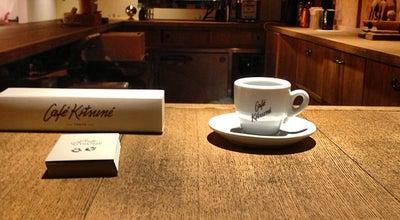 Photo of Cafe Café Kitsuné at 南青山3-17-1, 港区 107-0062, Japan