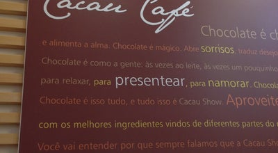 Photo of Chocolate Shop Cacau Show at R Osvaldo Aranha 900, VENÂNCIO AIRES 95800-000, Brazil