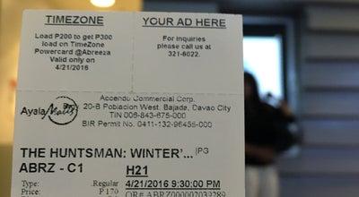 Photo of Movie Theater Cinema 1 at Abreeza Ayala Mall, Davao City 8000, Philippines