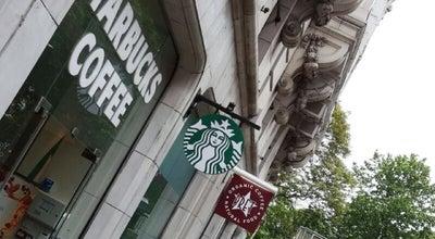 Photo of Coffee Shop Starbucks at 13b Hanover Sq, London W1S 1HN, United Kingdom