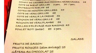 Photo of French Restaurant Chez l'Ami Louis at 32 Rue Du Vertbois, Paris 75003, France