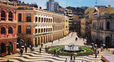 Photo of Plaza Largo do Senado / Senado Square 議事亭前地 at Avenida Do Almeida Ribeiro, Macau, Ma, China