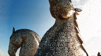 Photo of Monument / Landmark The Kelpies at Helix Park, Falkirk, United Kingdom