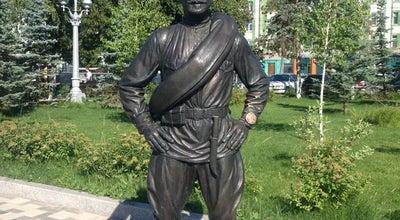 Photo of Monument / Landmark Скульптурная композиция «Товарищ Сухов» at 1-ая Очередь Набережной, Самара, Russia