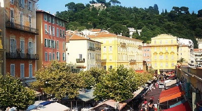 Photo of Pedestrian Plaza Cours Saleya at Cours Saleya, Nice 06300, France