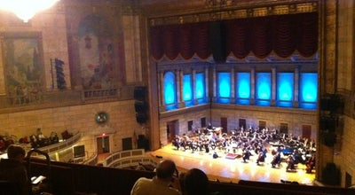 Photo of Theater Eastman Theater at 26 Gibbs St, Rochester, NY 14604, United States