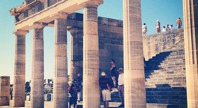 Photo of Historic Site Ακρόπολη Λίνδου (Acropolis of Lindos) at Ακρόπολη Λίνδου, Lindos, South Aegean 851 07, Greece