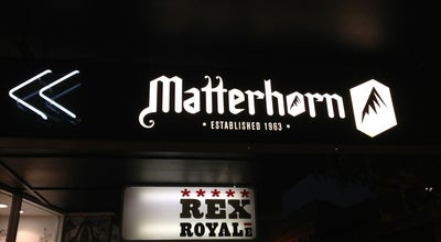 Photo of Lounge Matterhorn at 106 Cuba Mall, Wellington 6011, New Zealand