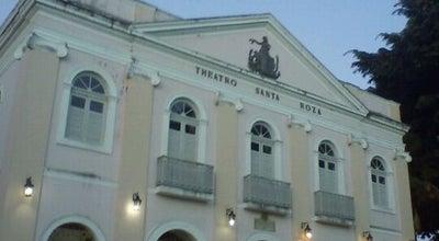 Photo of Theater Theatro Santa Roza at Pç. Pedro Américo, S/n, João Pessoa 58010-001, Brazil