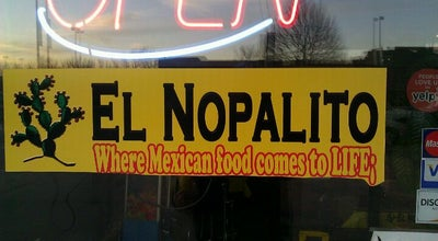 Photo of Mexican Restaurant El Nopalito Mexican Food at 77 W Alameda Ave, Denver, CO 80223, United States