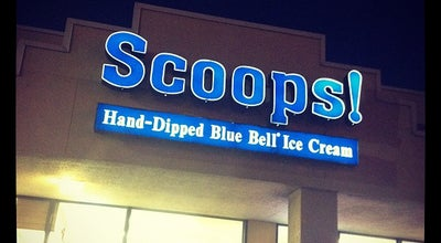 Photo of Ice Cream Shop Scoops! at 264-278 County Road 46a, Brenham, TX 77833, United States