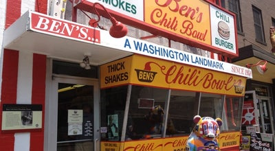 Photo of Hot Dog Joint Ben's Chili Bowl at 1213 U St Nw, Washington, DC 20009, United States