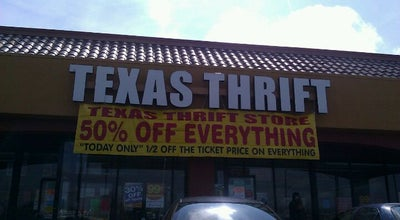Photo of Thrift / Vintage Store Texas Thrift Store at 4114 W Commerce St, San Antonio, TX 78207, United States