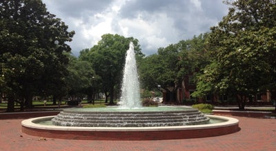 Photo of Monument / Landmark Trustees Fountain at Wright Circle, Greenville, NC 27858, United States