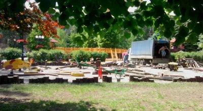 Photo of Playground Деревянная игровая площадка at Бул. Пушкина, Донецк, Ukraine