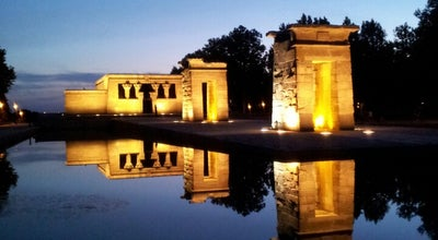 Photo of Monument / Landmark Templo de Debod at C. Ferraz, 1, Madrid 28008, Spain