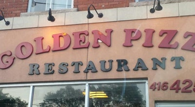 Photo of Pizza Place Golden Pizza at 1201 Broadview Ave, Toronto, ON M4K 2T1, Canada