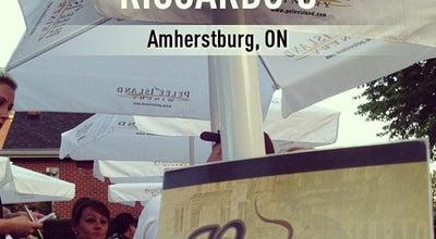 Photo of Italian Restaurant Riccardo's at 238 Dallhousie St, Amherstburg, On, Canada