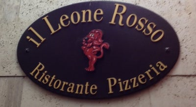 Photo of Italian Restaurant Il Leone Rosso at Italy