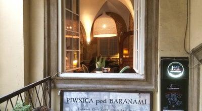 Photo of Pub Piwnica Pod Baranami at Rynek Glowny 27, Krakow, Poland